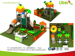 Liben Childrens Play Equipment Plastic Commercial Outdoor Playground Equipment for Kids pictures & photos