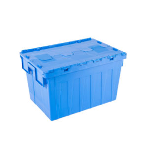 No. 6 Widely Used Plastic Crates with Iron Lug Plastic Multifunctional Container pictures & photos
