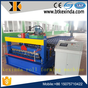 Kxd C18 Russia Popular Metal Roofing Sheet Roll Forming Machine pictures & photos