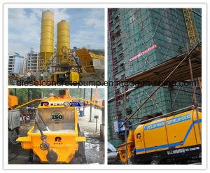 70m Vertical Pumping Distance Diesel Trailer Concrete Pump (HTB40.8.56RS) pictures & photos