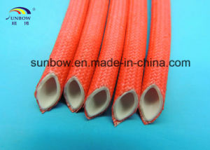 7.0kv Silicone Rubber Fiberglass Sleeving Inner Rubber Outer Fiberglass pictures & photos