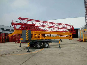 Pully Manufacture Max. 6 Ton Hoisting Load Foldable Mobile Tower Crane (TK23) pictures & photos