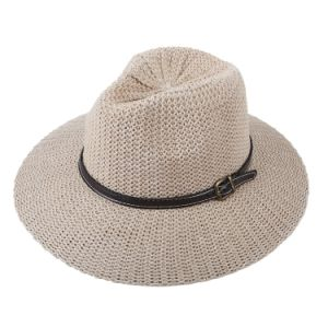 Hollow Style Raffia Straw Cowboy Hat pictures & photos