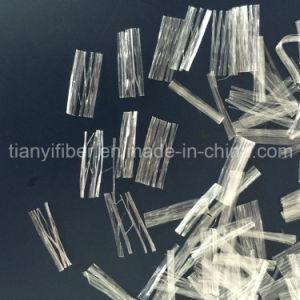 Polypropylene Net Fiber Synthetic PP Fiber with SGS, ISO Certification pictures & photos