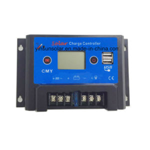5ah Solar Charge Controller with Dual USB 5V Output pictures & photos