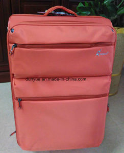 China Manufacturer Portable New Oxford Fabric Trolley Case Bag, OEM Casual Travel Luggage Suitcase with Wheels pictures & photos