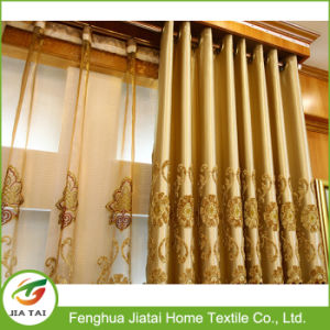 2017 Custom Design Decorative Jacquard Home Window Curtain pictures & photos