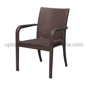 Leisure Outdoor Aluminum Tube Frame with PE Rattan Dining Chair (SP-OC818) pictures & photos