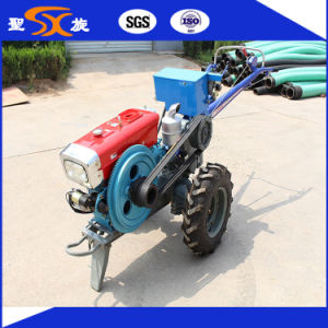 Newest 10HP Agricultural Walking/Hand Tractor with Low Price pictures & photos