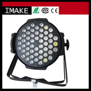 High Quality Manufacturer 54PCS 3W LED Stage PAR Light