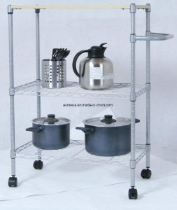 Metal Wire Display Exhibition Storage Shelving for Estonia pictures & photos