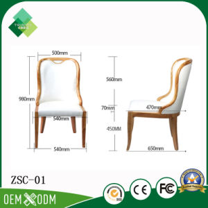 Janpanese Style Rubber Wood of Chairs for Restaurant (ZSC-01) pictures & photos