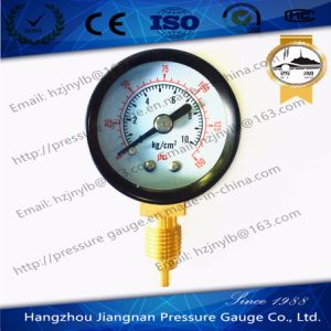 60mm 2.5′′ General Pressure Gauge with Black Case-Air Pressure Gauge pictures & photos
