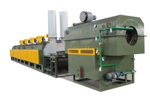 Mesh Belt Continuous Blackening Furnace pictures & photos