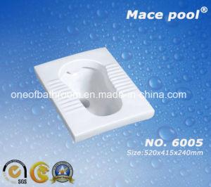 Economic Sanitary Ware Ceramic Squatting Pan (6005) pictures & photos