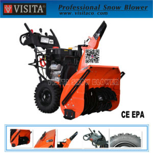 """420cc 34"""" Snow Engine 2 Stage Chain Drive Snow Thrower pictures & photos"""