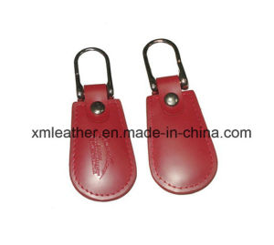Embossed Logo PU Leather Key Ring Keychain Key Holder pictures & photos