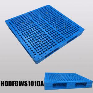 1000X1000 Cheap HDPE Double Pace Plastic Pallet Reversible pictures & photos