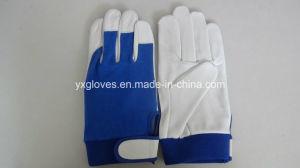 Work Glove-Goat Skin Glove-Industrial Gloves-Working Gloves-Safety Glove-Leather Gloves pictures & photos