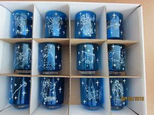 Set 12 Borisilate Glass Candle Holder with Twelve Zodiac pictures & photos