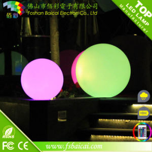 PE Material Garden Used Color Changing Mood LED Light Ball pictures & photos