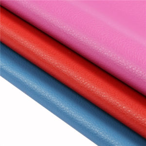 Microfiber Leather for Shoes Handbags Making Hw-545 pictures & photos