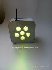 Disco Light 6*15W Battery Power Wireless DMX LED PAR pictures & photos