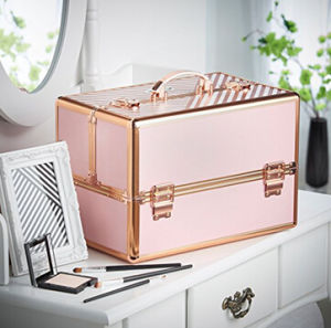 Professional Aluminum Beautify Large Custmomized Cosmetic Organizer Case pictures & photos