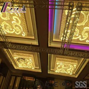 Fashion and Decoracive Squre Gold Ceiling Light with Lobby pictures & photos