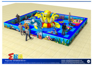 Ocean Themed Todder Indoor Playground Equipment with Inflatable pictures & photos