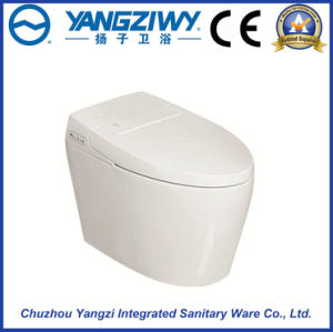 Automatic Bathroom Smart Ceramic Intelligent Toilet Bowl (YZ-28A) pictures & photos