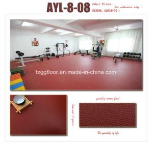 Fashion Design 2mm Thickness PVC Vinyl Laminate Flooring pictures & photos