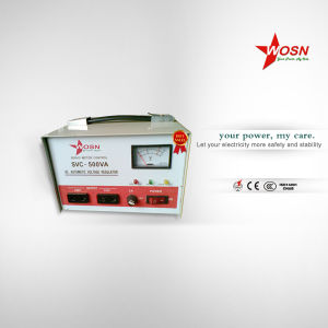 SVC Series 500va Single Phase AC Automatic Voltage Stabilizer pictures & photos