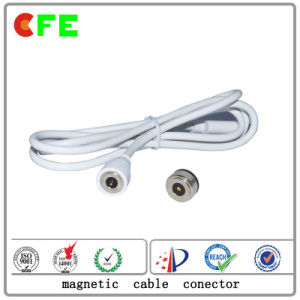 Waterproof 1pin Magnetic Cable Connectors for Medical Mattess pictures & photos