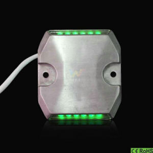 High Quality IP68 Aluminum Green LED Road Stud Reflectors pictures & photos