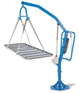 Electric Rotatable Pool Lift Swimming Lift pictures & photos