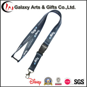 "3/4"" Knitted Polyester Lanyard with Simple Hook pictures & photos"