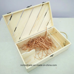 High Quality Two-Bottle Wood Wine Box with Factory Price pictures & photos