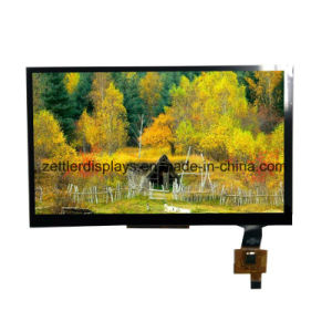 "Outdoor Use Sun Readable High Brightness 7"" TFT Display Panel with Lvds Interface ATM0700L6j pictures & photos"