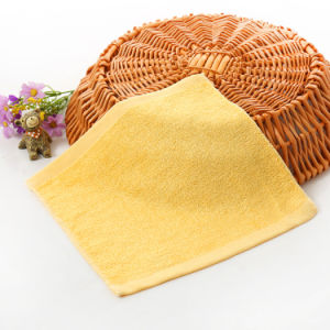 100% Bamboo Fiber White Baby Face Washcloth Promitiom Towel pictures & photos