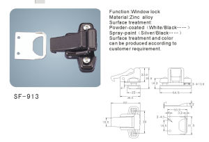 Hardware Accessories Window Lock (SF-913) pictures & photos