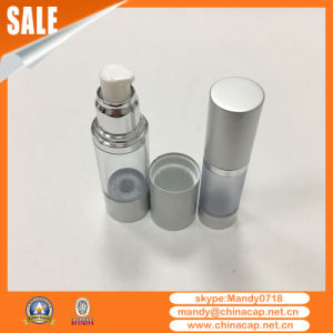 Silver Airless Pump Sprayer Bottle for Perfume Packaging pictures & photos