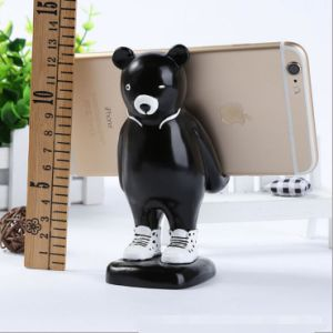 High Quality Resin Cute Bear Cell Phone Holder for Sale pictures & photos