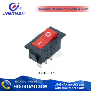 Kcd1-117 2 Position Rocker Switch/ Small Rocker Switch pictures & photos