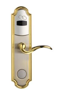Environmental Zinc Alloy RF Hotel Door Lock pictures & photos