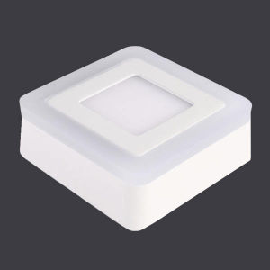 6W +3 Round Square LED Panel Light Aluminum Die Casting+Acrylic pictures & photos