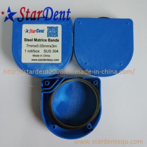 Dental Matrix Roll Bands Steel Matrice Bands of Lab Hospital Medical Surgical Diagnostic Equipment pictures & photos
