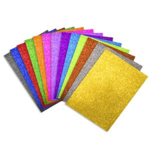 2mm Glitter Foamy Sheet pictures & photos