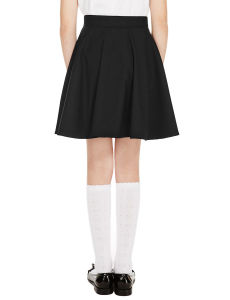 School Skirts Girls′ Skater Skirt with Triple Action pictures & photos