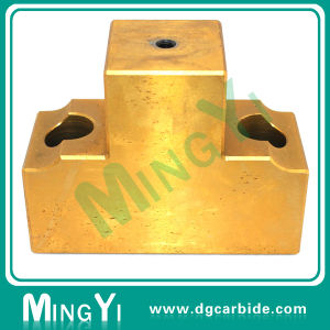 Custom Tin Coating Dayton Carbide Punch and Block pictures & photos